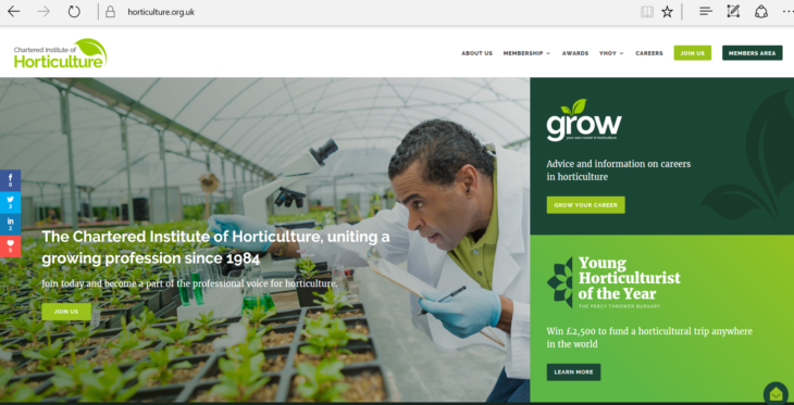 Digital Careers Initiative by Chartered Institute of Horticulture